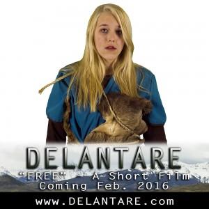 """Paige Awtrey as Zana - """"Delantare: Free"""""""