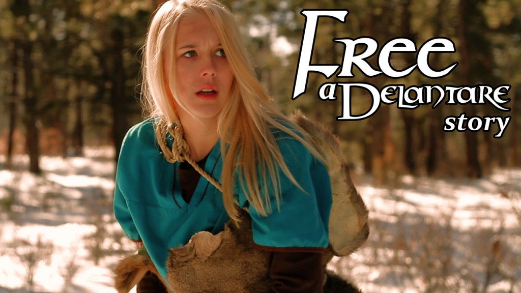 Free: A Delantare Story starring Paige Awtrey - Copyright Standing Sun Productions, LLC