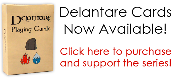 Delantare playing cards now available! Help us raise funds to support the creation of more episodes of this new animated web series!